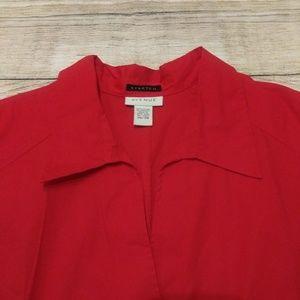 Avenue Tops - Avenue Red Sleeveless Top SIZE 26/28 EUC